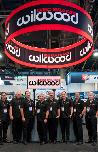Wilwood Trade Show Booth at Sema