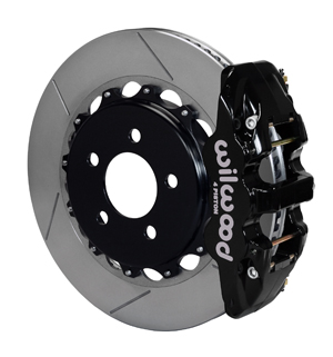 BRAKE KIT, AERO4 REAR, C5/C6 CORVETTE, 14 x 1.1, w/OE PB