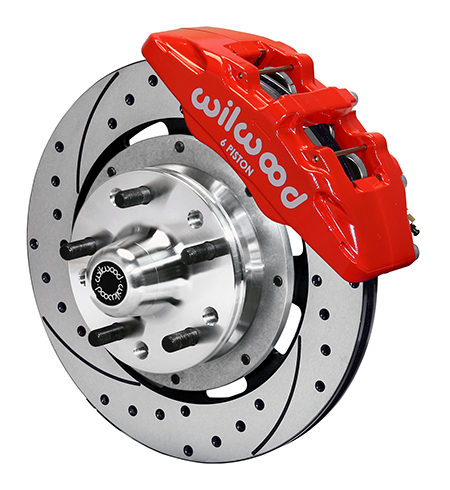 Dynapro 6 Big Brake Front Brake Kit (Hub)