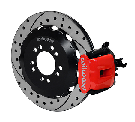 Combination Parking Brake Caliper Rear Brake Kit