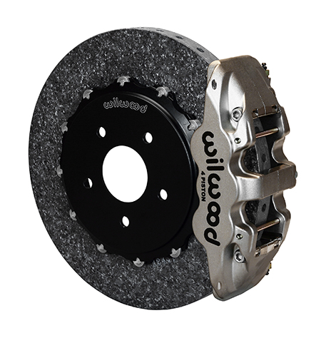 AERO4 WCCB Carbon-Ceramic Big Brake Rear OE Parking Brake Kit