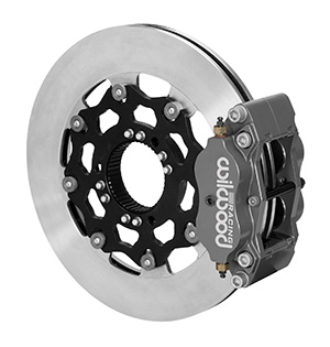 Billet Narrow Dynalite Radial Mount Sprint Inboard Brake Kit
