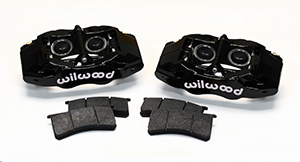 Wilwood SLC56 Front Replacement Caliper Kit - Black Powder Coat Caliper
