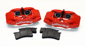 Wilwood SLC56 Front Replacement Caliper Kit - Red Powder Coat Caliper