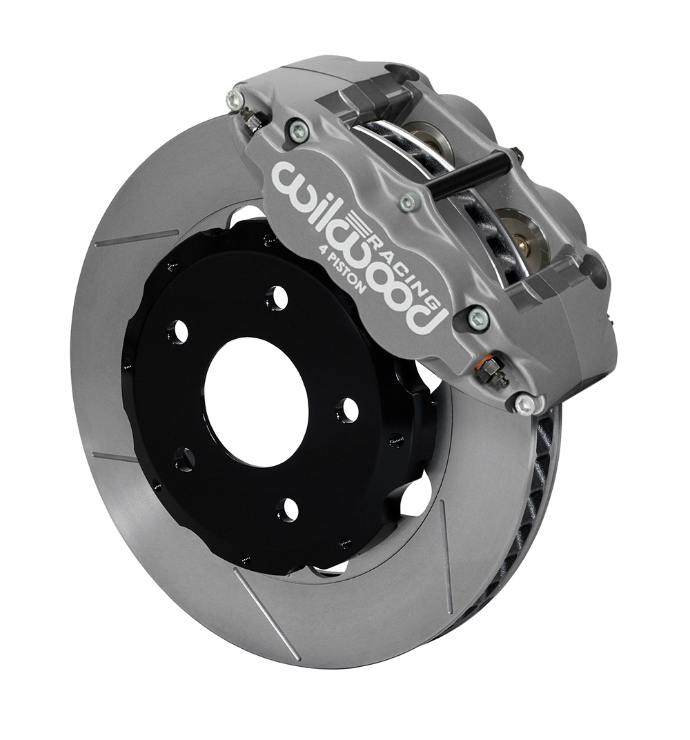 Wilwood Forged Superlite 4R Big Brake Front Brake Kit (Race) - Type III Ano Caliper - GT Slotted Rotor