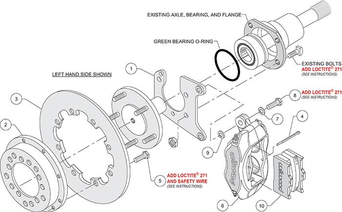 wilwood high performance disc brakes