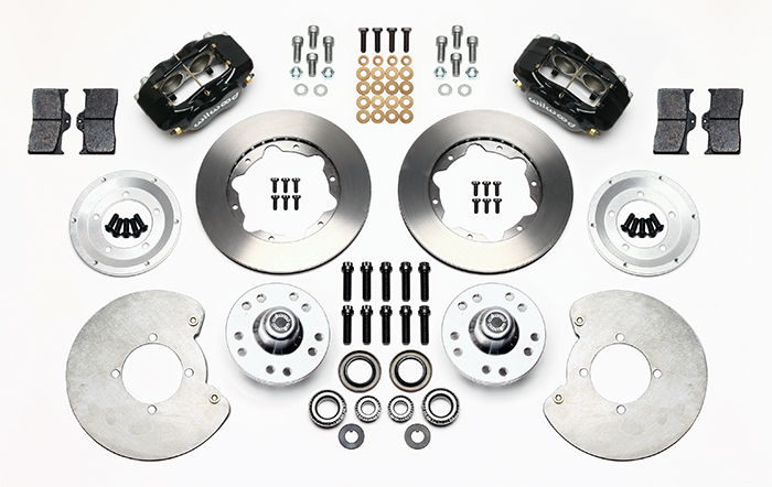Forged Dynalite Pro Series Front Brake Kit Parts