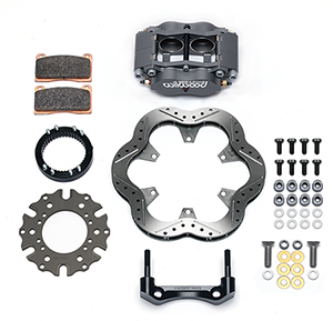 Billet Narrow Dynalite Radial Mount Sprint Inboard Brake Kit Parts