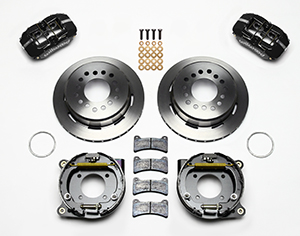 Dynapro Low-Profile Rear Parking Brake Kit Parts