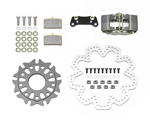 GP320 Sprint Right Rear Brake Kit Parts