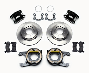 D154 Rear Parking Brake Kit Parts