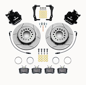 Combination Parking Brake Caliper 1Pc Rotor Rear Brake Kit Parts