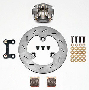 Dynapro Single Left Front Brake Kit Parts