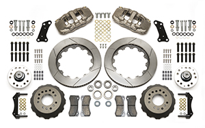 AERO6 Big Brake Dynamic Front Brake Kit Parts