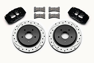 DPC56 Rear Replacement Caliper and Rotor Kit Parts