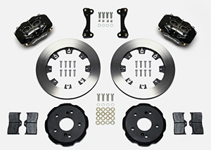 Forged Dynalite Big Brake Front Brake Kit (Hat) Parts