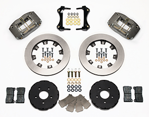 Dynapro Radial Big Brake Front Brake Kit (Hat) Parts