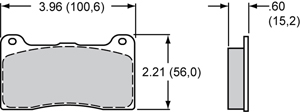 Wilwood Brake Pad Plate #7816