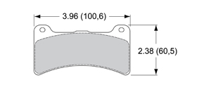 View Brake Pads with Plate #48XX