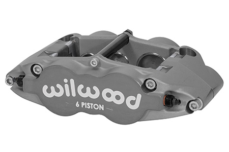 Forged Narrow Superlite 6 Radial Mount Caliper - 120-14550<br />6 Piston