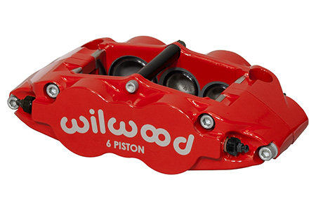 Forged Narrow Superlite 6R Caliper - Red Powder Coat