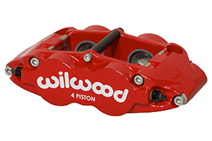 Wilwood Forged Narrow Superlite 4 Dust Seal Radial Mount Caliper