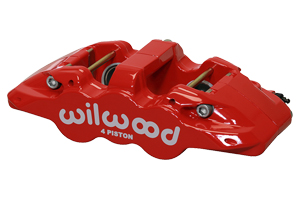 AERO4 Caliper - Red Powder Coat
