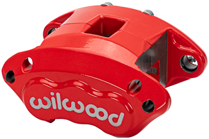 D154 Caliper - Red Powder Coat