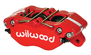 Dynapro Lug Mount Caliper - Red Powder Coat