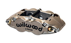Forged Narrow Superlite 6R Caliper - Nickel Plate