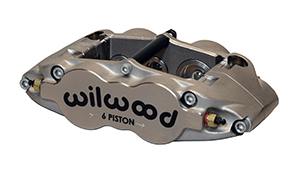 Wilwood Forged Narrow Superlite 6 Radial MT-QS/ST Caliper