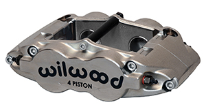 Wilwood Forged Superlite 4 Radial MT-Quick-Silver Caliper
