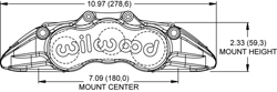 Dimensions for the Grand National GN6R