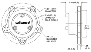 Starlite 55 Drive Flange Drawing