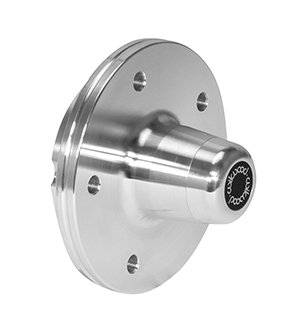 Hub - Vented Rotor Offset - Aluminum - Bare