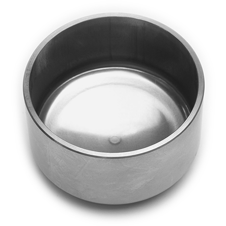 Cup Stainless Piston - 200-6633<br />O.D.: 2.75 in  Length: 1.680 in