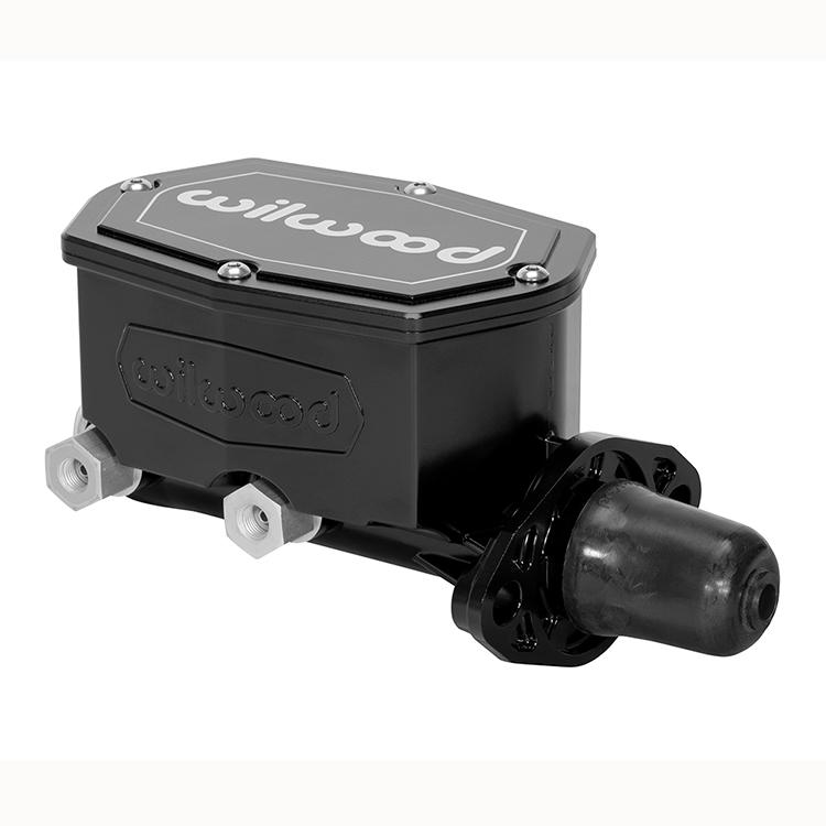 "Wilwood 260-8555-BK Aluminum Tandem Master Cylinder 1.00/"" Bore Size"
