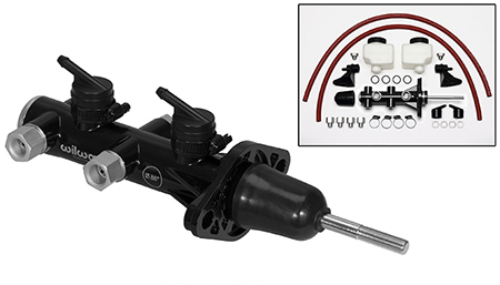 Wilwood Remote Tandem Master Cylinder w/ Pushrod