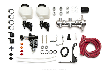 Wilwood Remote Tandem M/C Kit with Bracket and Valve
