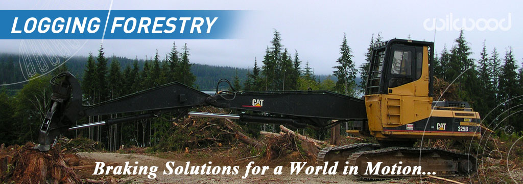 Logging & Forestry Disc Brake Applications