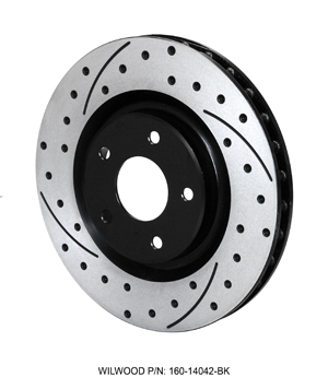 SRP Drilled Performance Rotor & Hat