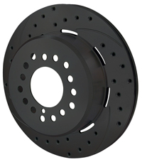 SRP Drilled Performance Rotor & Hat Rotors