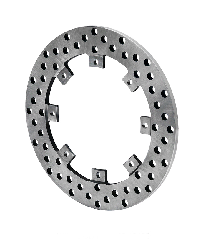 Super Alloy Drilled Rotor