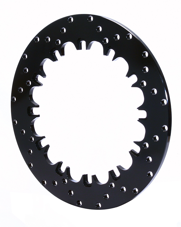 Drilled Steel Dynamic Mount Rotor
