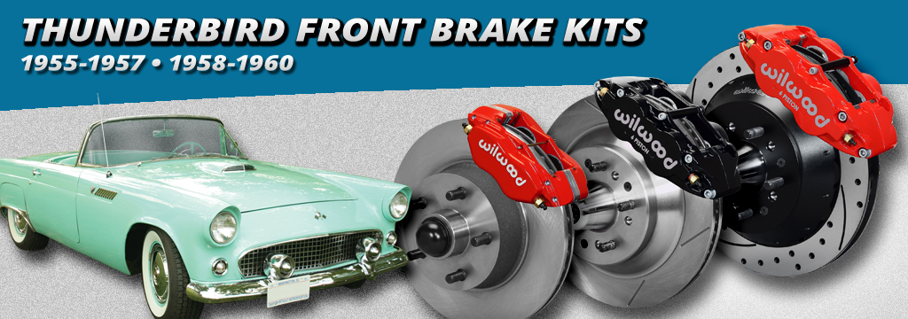 1955-1960 T-Bird Front Disc Brake Kits