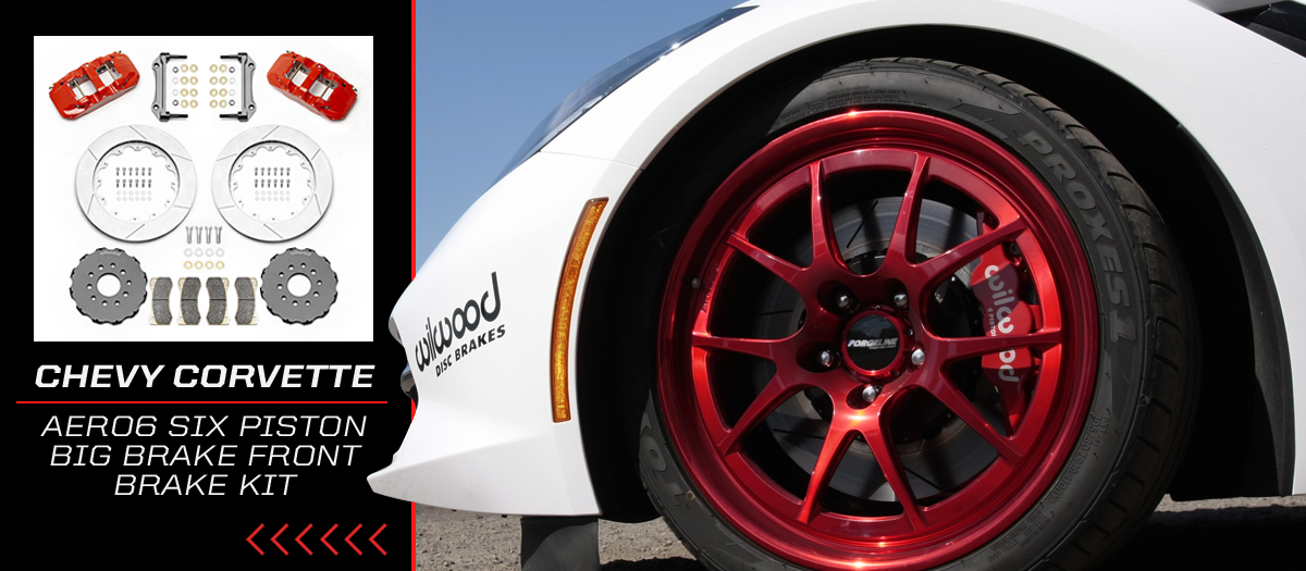 Wilwood AERO6 Corvette Racing Brake Kit