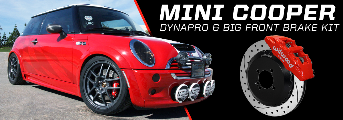 Mini Cooper with Wilwood Brake Kit - slide 1