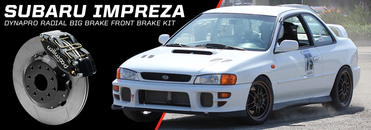 Subaru Impreza WRX using Wilwood Disc Brakes - slide 2