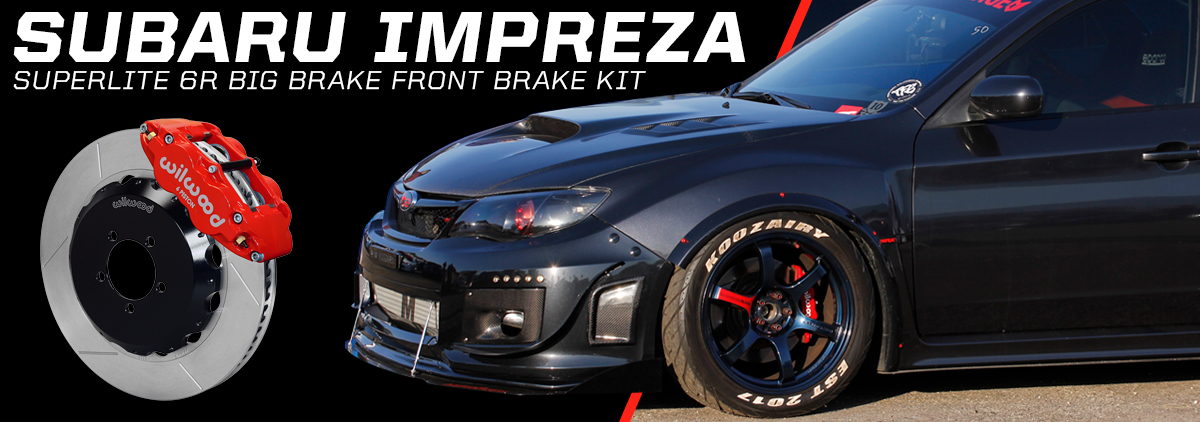 Subaru Impreza WRX using Wilwood Disc Brakes - slide 3