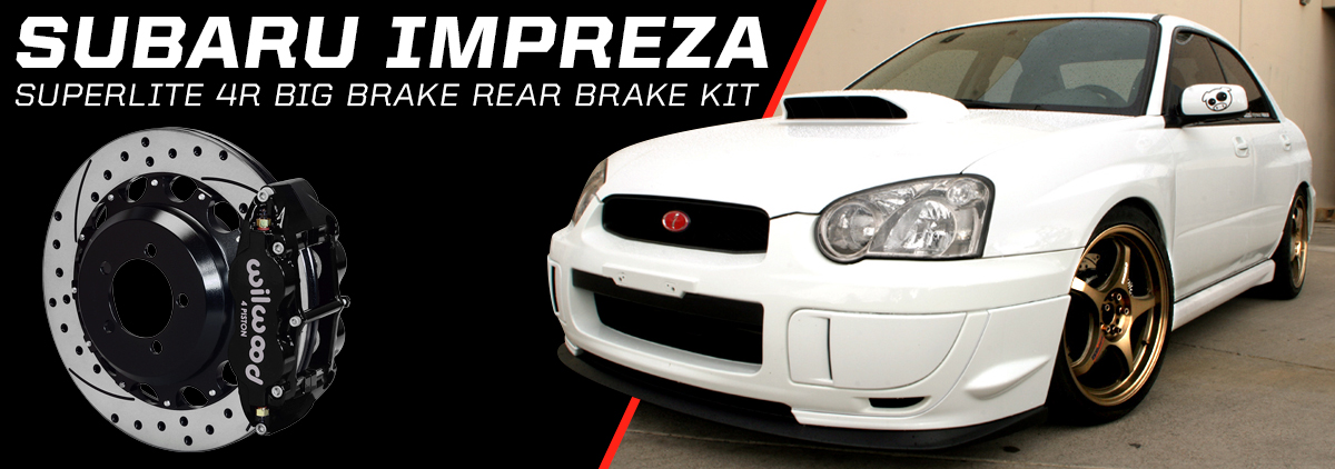 Subaru Impreza WRX using Wilwood Disc Brakes - slide 5